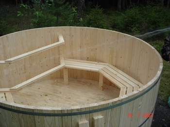bygga egen badtunna