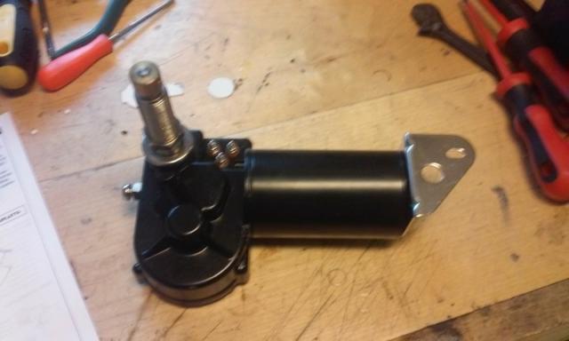 Electric wipermotor