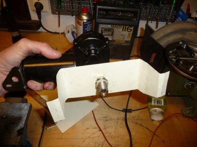 Testing bracket to electric wiper