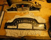 The instrument cluster dissassembled